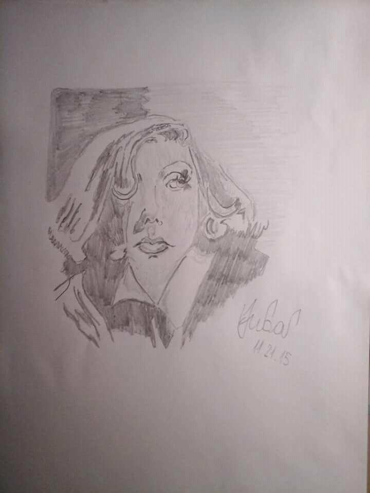 Greta Garbo por IgorIgy87